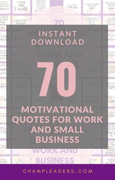 Instant Download so you don't have to look through pages and pages to find the right quote for your team. These motivational quotes are curated for teams and small businesses. #leadership #quotes #instantdownload #motivationalQuotes #funnyquotes