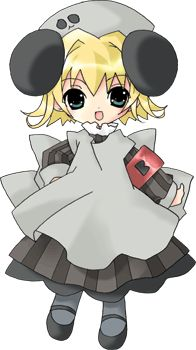Piyoko from Digi Charat. I dressed as her at Anime Conventions a few years ago.