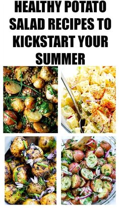 16 Healthy Potato Salad Recipes To Die For! #salads, #healthysalads, #potatosalads, #healthypotatosalads, #nomayopotatosaladrecipe, #cookingrecipes, #summerrecipes, #summersalads, #summerappetizers, #traditionalpotatosalad, #easypotatosalad