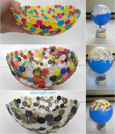 Probably, you have many spare buttons that you do not use at your home. So, let us start by showing you this special collection of 17 Buttons Craft Ideas