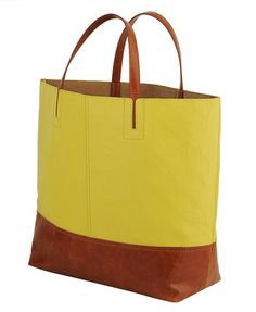 large colorblocked tote --Forever21 (looks perfect for carry-on/beach bag/vegas)