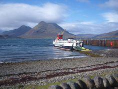 Isle of Raasay - Raasay ferry to Skye