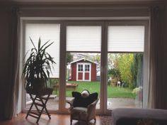 Sichtschutz Plissees für Türen und Fenster vom Raumtextilienshop - der Onlineshop für Heimtextilien