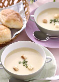 レシピ:キャベツのポタージュスープ