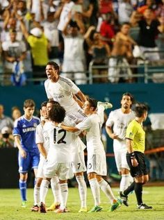 Real Madrid is the winner of International Champions Cup.. Hala Madrid !!!  FT: Real Madrid 3-1 Chelsea ( Marcelo 14', Cristiano Ronaldo 31' 57' / Ramires 17') ¡Hala Madrid!