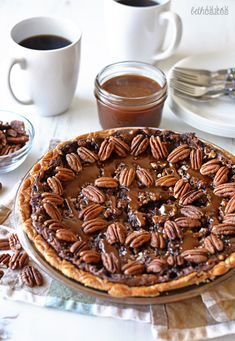 Chocolate Turtle Pecan Pie