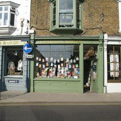 Harbour Books in Whitstable is a great little indie bookshop, half Aladdin's cave, half book Tardis. I defy you to come out empty handed.