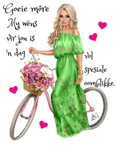 Good Morning Greetings, Good Morning Wishes, Good Morning Quotes, 28 Dae Dieet, Lekker Dag, G Morning, Goeie Nag, Goeie More, 3d Girl