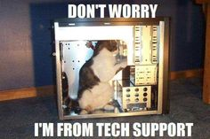 our new tech support