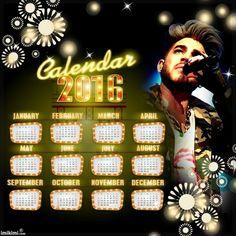+calendar 2016+