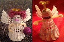 Christmas Ornaments, Holiday Decor, Home Decor, Angel, Handmade, Decoration Home, Room Decor, Christmas Jewelry, Christmas Decorations