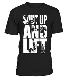 """# Shut Up And Lift Motivational Workout Tee .  Special Offer, not available in shops      Comes in a variety of styles and colours      Buy yours now before it is too late!      Secured payment via Visa / Mastercard / Amex / PayPal      How to place an order            Choose the model from the drop-down menu      Click on """"Buy it now""""      Choose the size and the quantity      Add your delivery address and bank details      And that's it!      Tags: Featuring the big three--Barbell Bench…"""