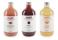 Made Juice #bottle #label