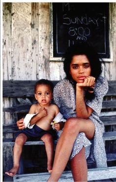 beautiful. lisa bonet and daughter
