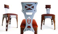 Brandner Design   THE SHEET METAL CHAIR