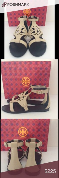 TORY BURCH Zoey Flat Sandals Size 9 New in box, never worn, purchased from Nordstrom! Tory Burch Shoes Sandals
