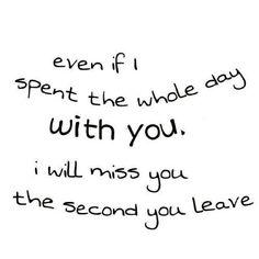 Miss u..