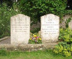 Chawton Gravestones:  Jane Austen's Mother & Older Sister