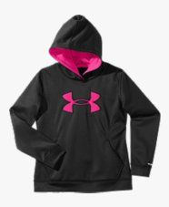 SAVE UP TO 60% OFF FREE SHIPPING Under Armour is the leader in performance apparel, footwear and accessories. Products are sold worldwide and worn by athletes at all levels, from youth to professional, on playing fields around the globe. The company's mission is to make all athletes better through passion, design and the relentless pursuit of innovation.Our products include a diverse assortment for men, women and youth to accommodate any season and temperature.Girls' Armour®Storm Big Logo…