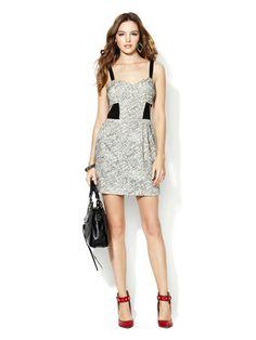 Rebecca Minkoff Lori Sweetheart Cut-Out Dress
