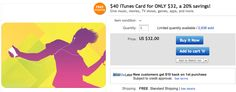 Cool new iTunes gift card discount! Gift Card Specials, Itunes Gift Cards, Tv Shows, Ads, Gifts, Presents, Favors, Gift, Tv Series