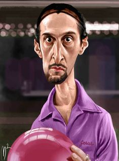 John Turturro Caricature by Marzio Mariani. #Celebrity #Caricatures #Oddonkey