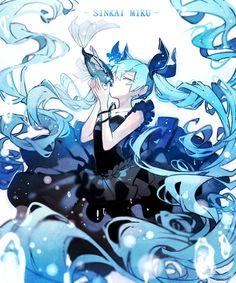 담아감 Hatsune Miku, Kaito, Kawaii Anime, Character Illustration, Illustration Art, Kagamine Rin And Len, Anime Galaxy, Mikuo, Unicorn Art