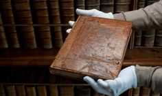 A book which helped changed the course of English history, part of the evidence Henry VIII and his lawyers gathered in the 1530s to help win an annulment from Catherine of Aragon and ultimately to break with Rome, has turned up on the shelves of the magnificent library at Lanhydrock, a National Trust mansion in Cornwall.