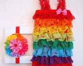 Headbands Rompers Tutus Fairy Wings & Diaper by LillyBowPeep