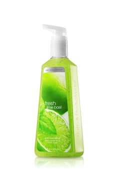 Bath and Body Works Fresh Lime Basil Anti-Bac Soap