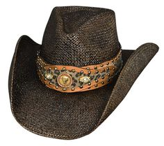 89fb4a8ff17 Careless Whisper Womens Toyo Straw Cowboy Hat at Cowgirl Blondie s Dumb  Blonde Boutique