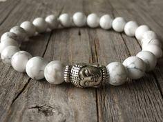 Gemstone bracelet Buddha bracelet men bracelet men door KennlyDesign