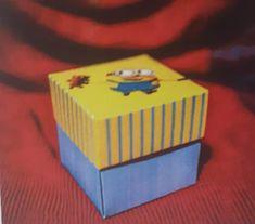Invitatie cutie minion ursulet 134 Cube, Character