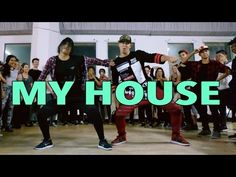 MY HOUSE - Flo Rida Dance | @MattSteffanina Choreography (Int Hip Hop Class) - YouTube