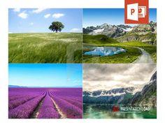 Setzen Sie Effekte gezielt ein und spielen Sie mit der Wirkung von Naturimpressionen bei Ihrer nächsten PowerPoint-Präsentation.