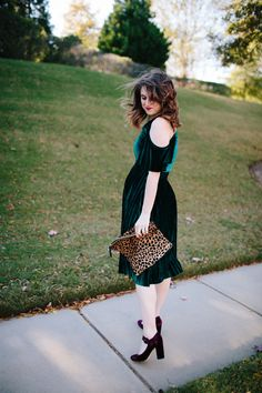 b1c06404e1e A Velvet Dress for the Holidays