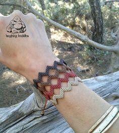 Bracelet macramé bijoux faits main bracelet par byLaughingBuddha