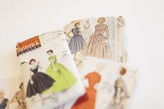 Colette Blog: How to organize a mountain of sewing patterns with your phone