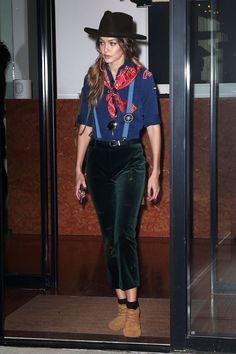 Gigi Hadid went to Taylor Swift's Halloween gathering as a Cub Scout.