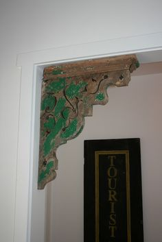 Architectural salvage - here's an idea to use in my house