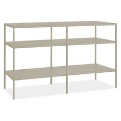 "Entry, Slim Media Console in Taupe $399, 42""W 15""D 24""H"
