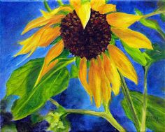 """Sunflower Oil Painting 