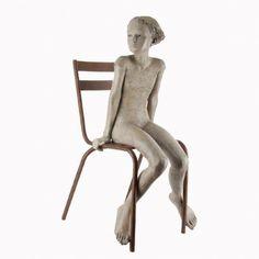 "Sculpture ""L'Aurore"" de BERIT. (Bronze).  Site de l'artiste : www.treserras-berit.com"