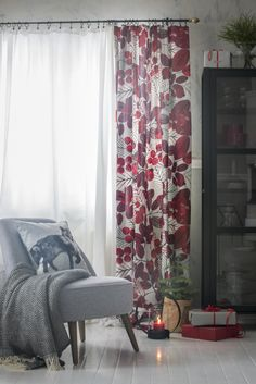 Pentik is an international interior design retailer, who wants to bring northern beauty and cosiness to homes. Christmas 2017, Pattern Making, Curtains, Living Room, Interior Design, Diy Decoration, Decorations, Inspiration, Color