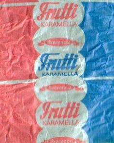 Tutti Frutti - retro édesség
