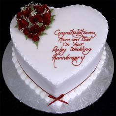 simple and easy anniversary cakes Anniversary Cake Ideas