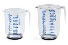 Plastex 1 ja 1,5 l mittakaatimet