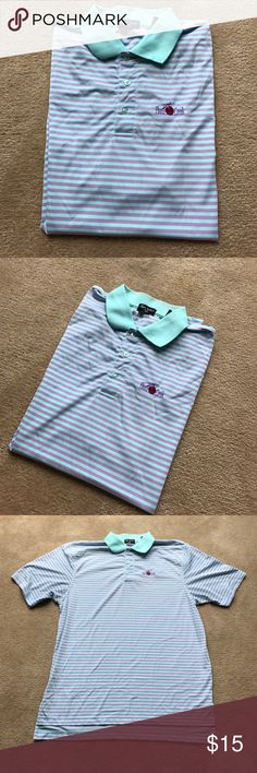 Men's golf shirt from famous plum creek Great professional golf shirt - breathing material NO SWEAT FROM PLUM CREEK Shirts Polos