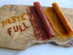 Fruit leather - συντήρηση φρούτων χωρίς ζάχαρη