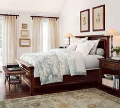 Bedroom - Pottery Barn